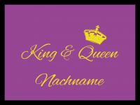 King & Queen 01 by David