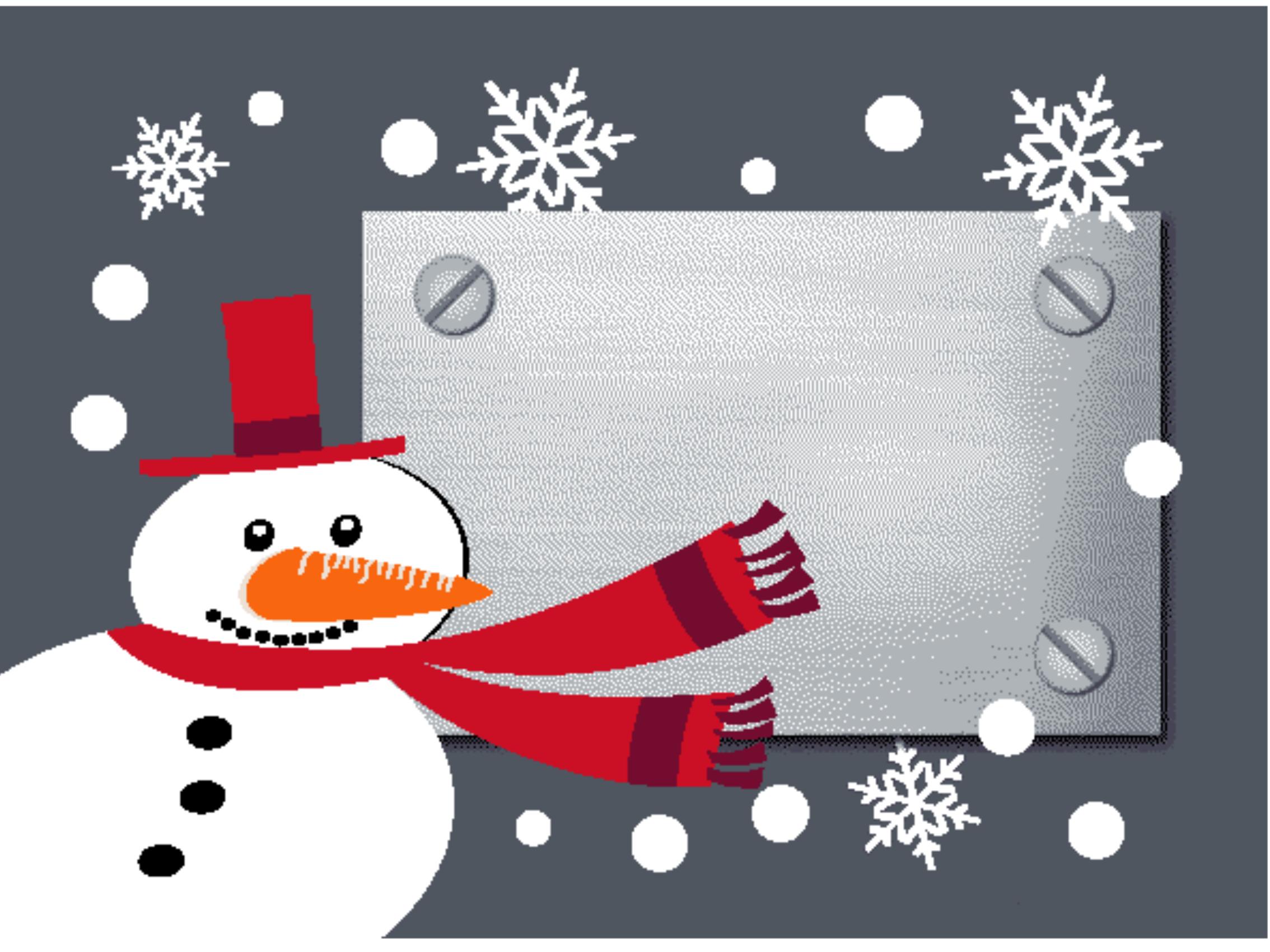 Fußmatte Snowman 999-1723