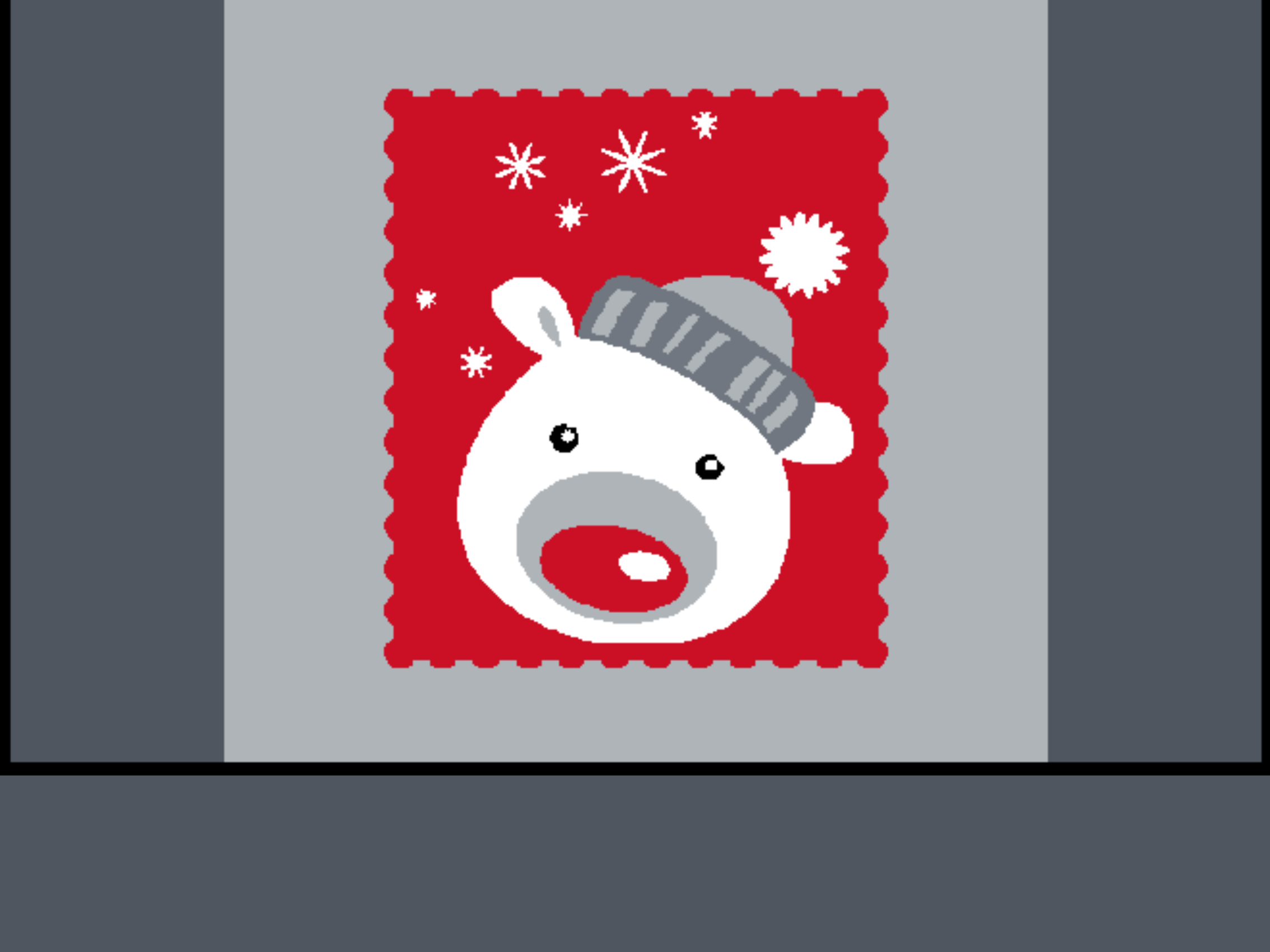 Christmas Bear 10711-060045