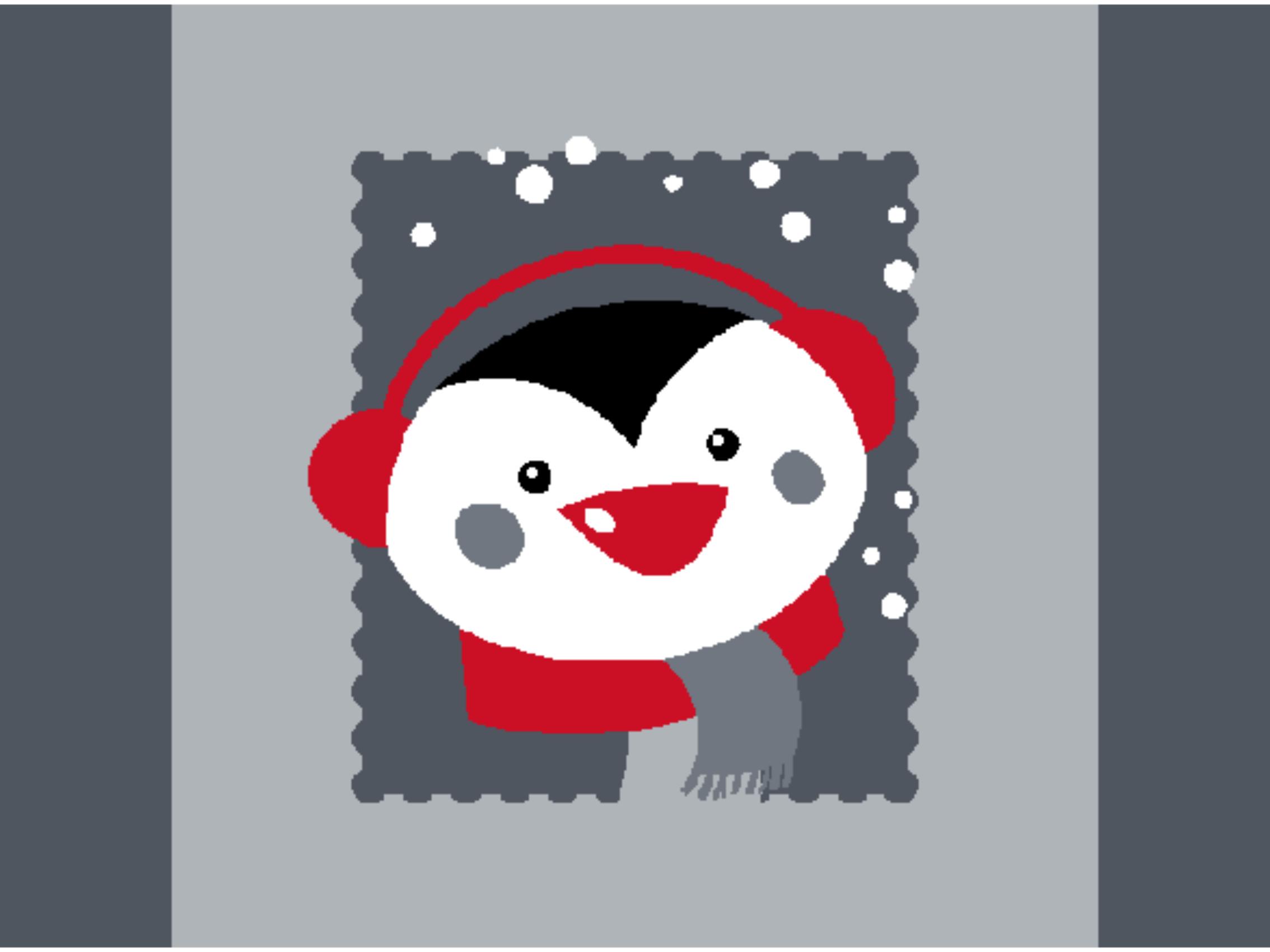 Christmas Penguin 10713-060045