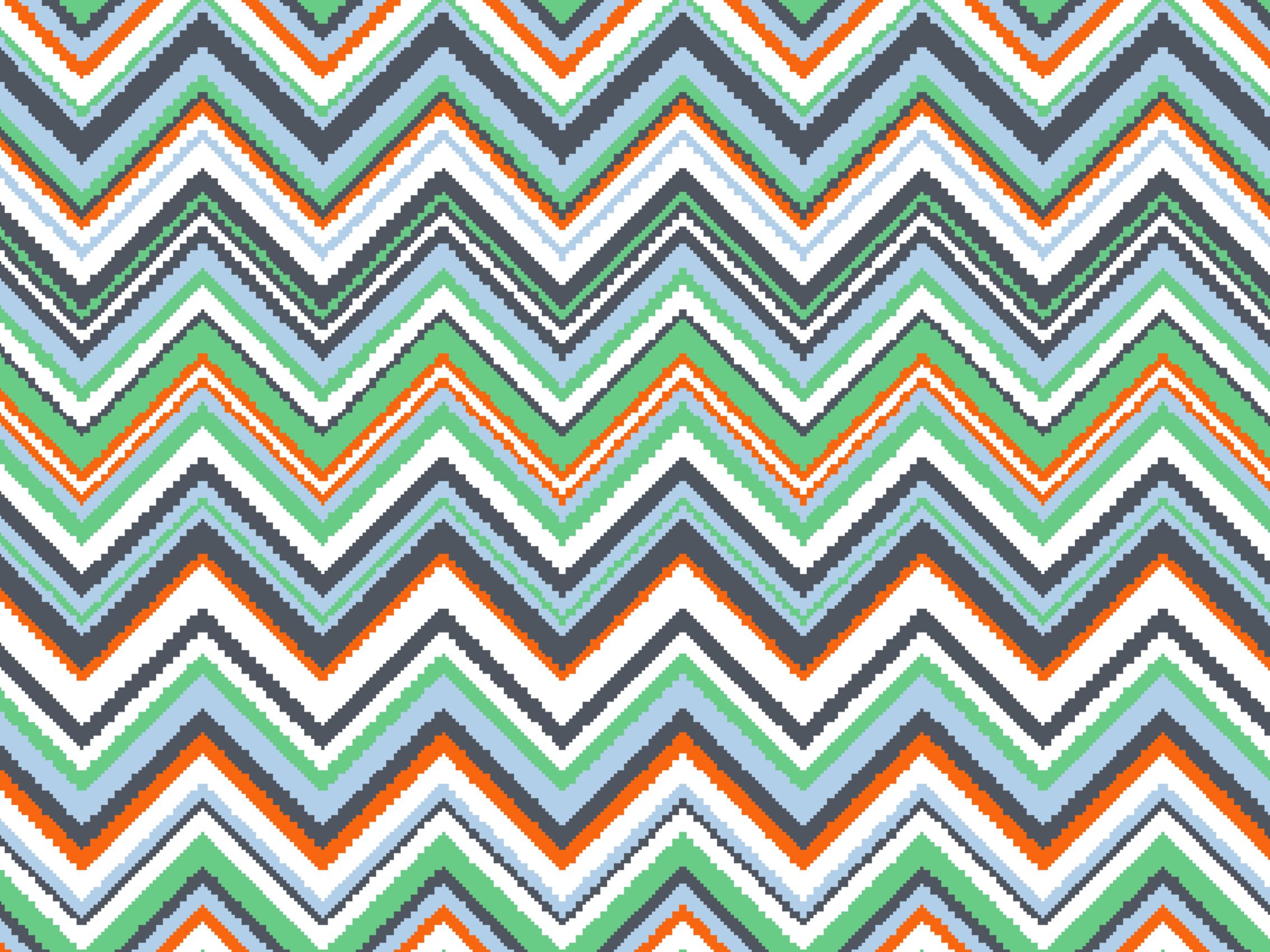 Zigzag pattern 999-1880