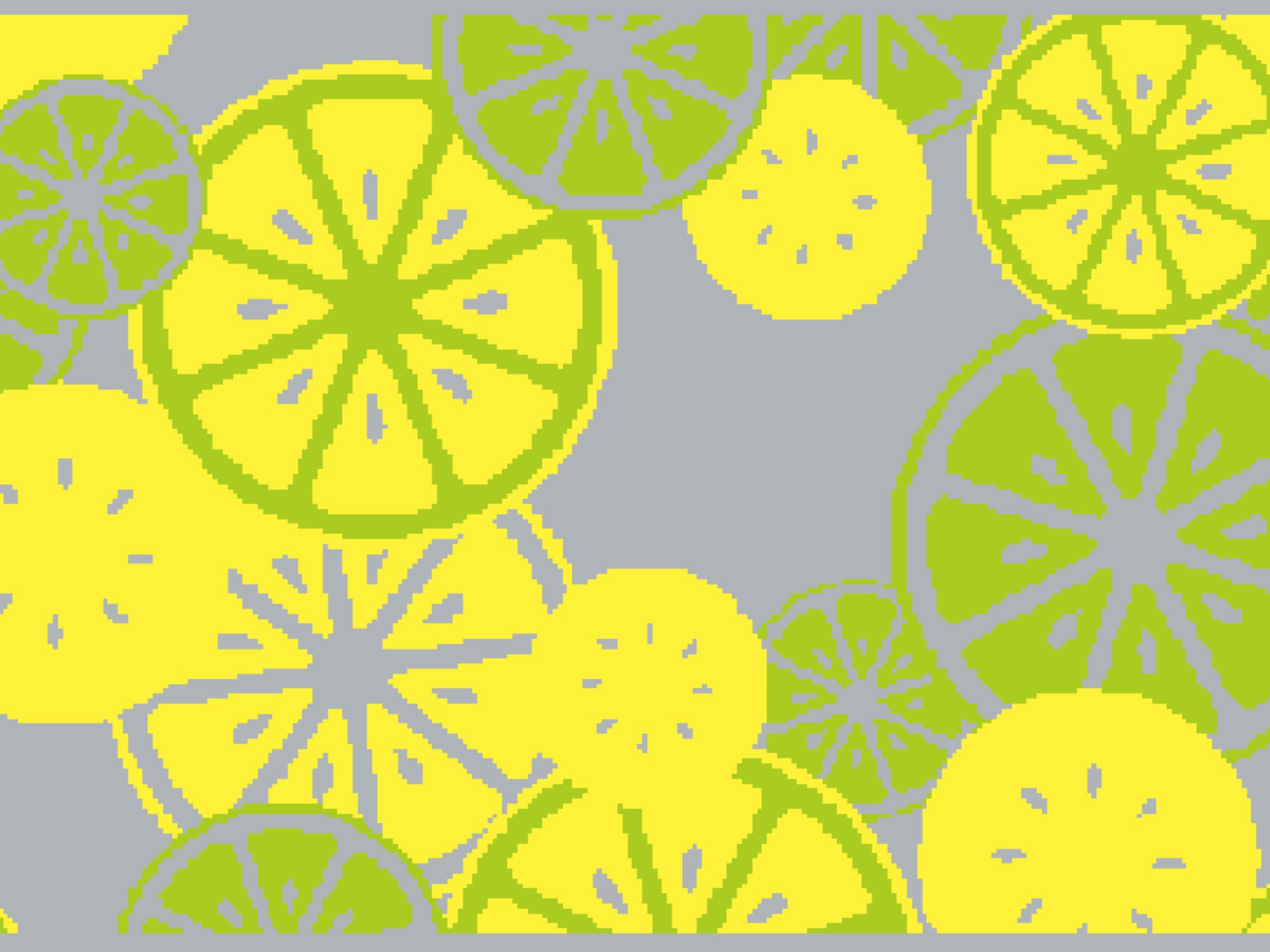 Summer mat with lemon 999-1884