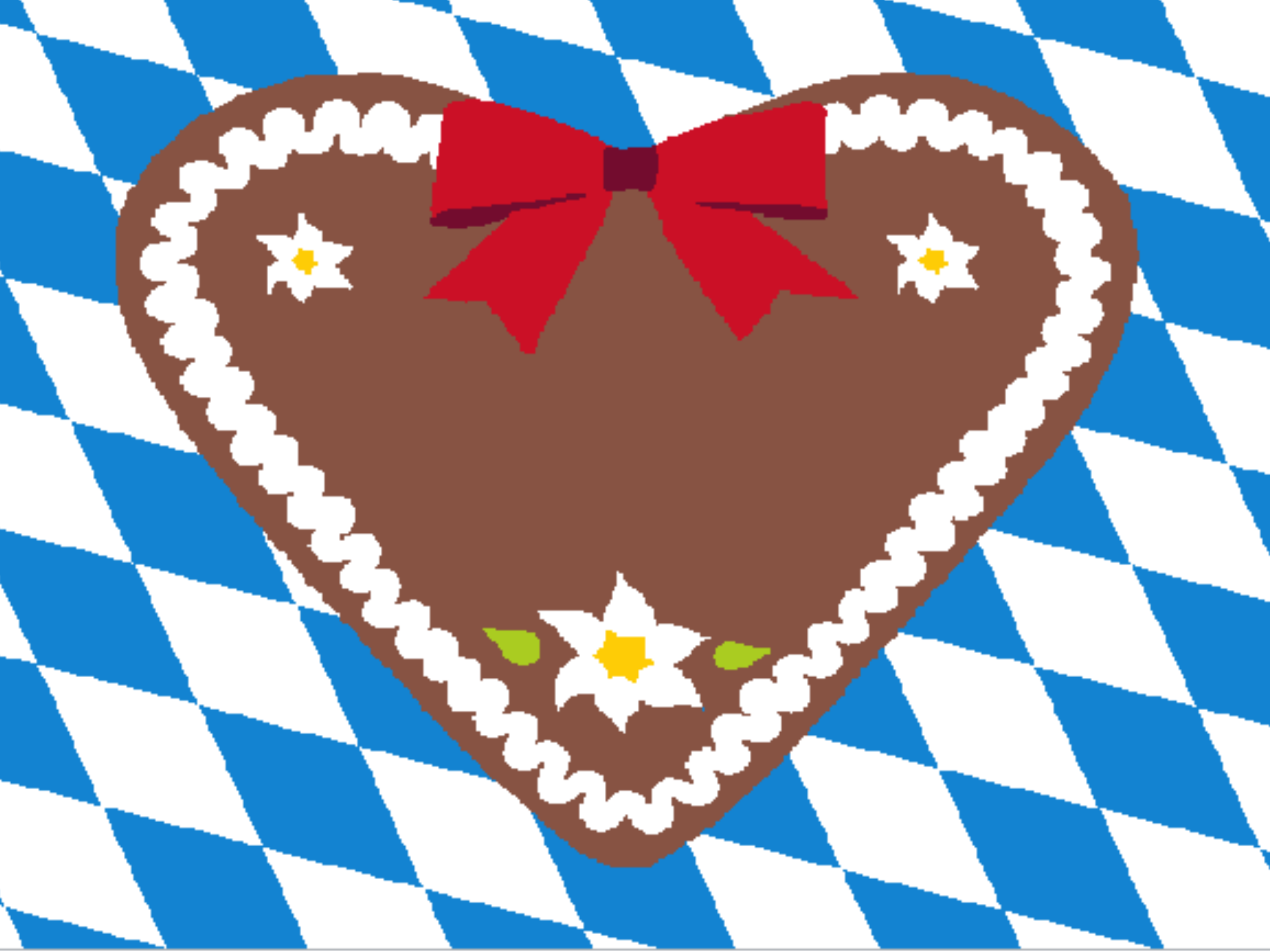 Gingerbread heart 999-1486