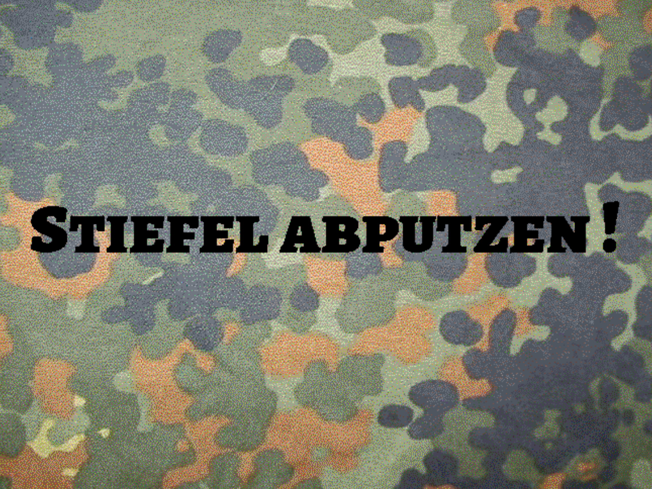 German Armed Forces Stain Camouflage 999-1737