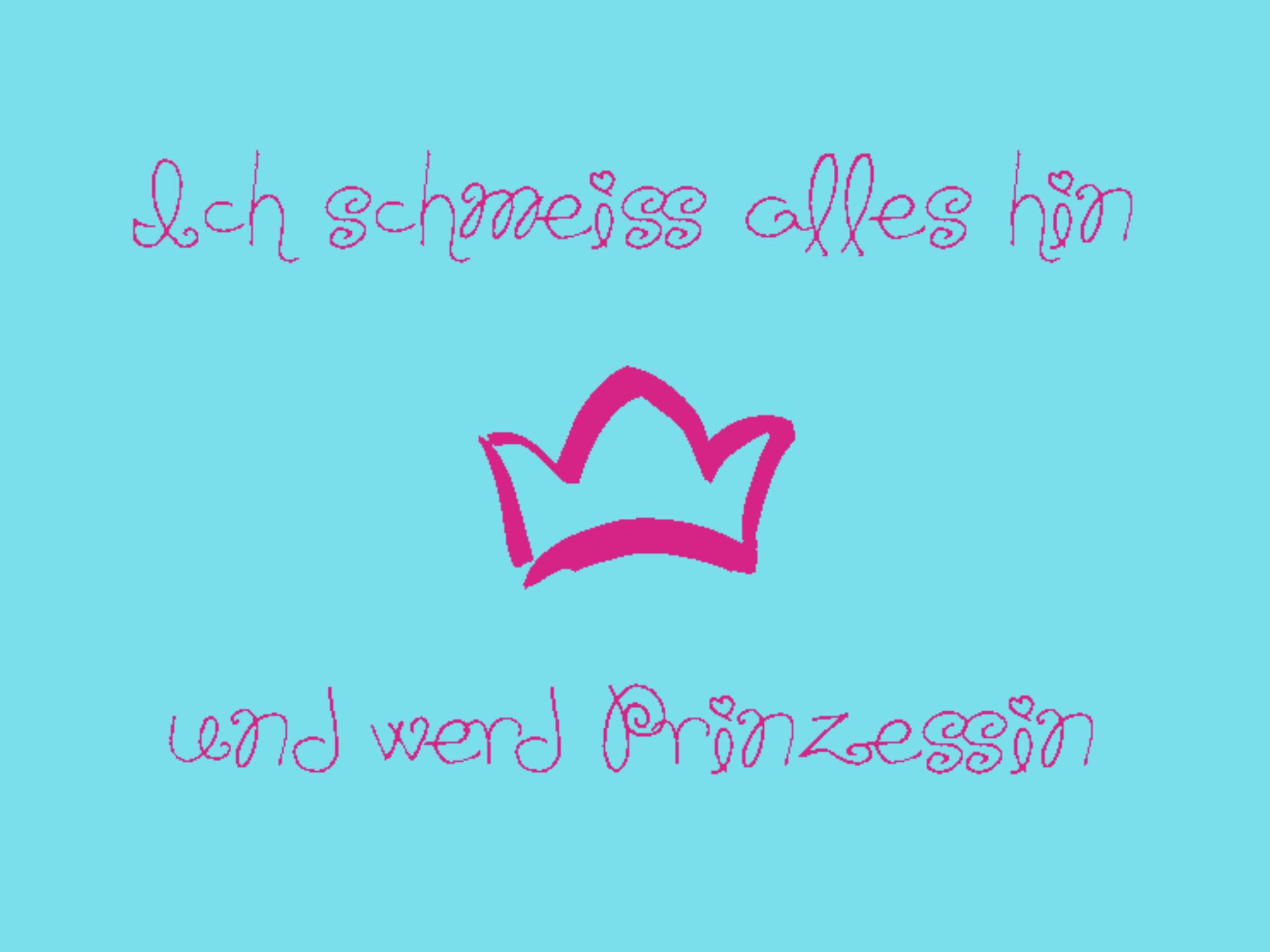 """Doormat """"Prinzessin"""" 999-198"""