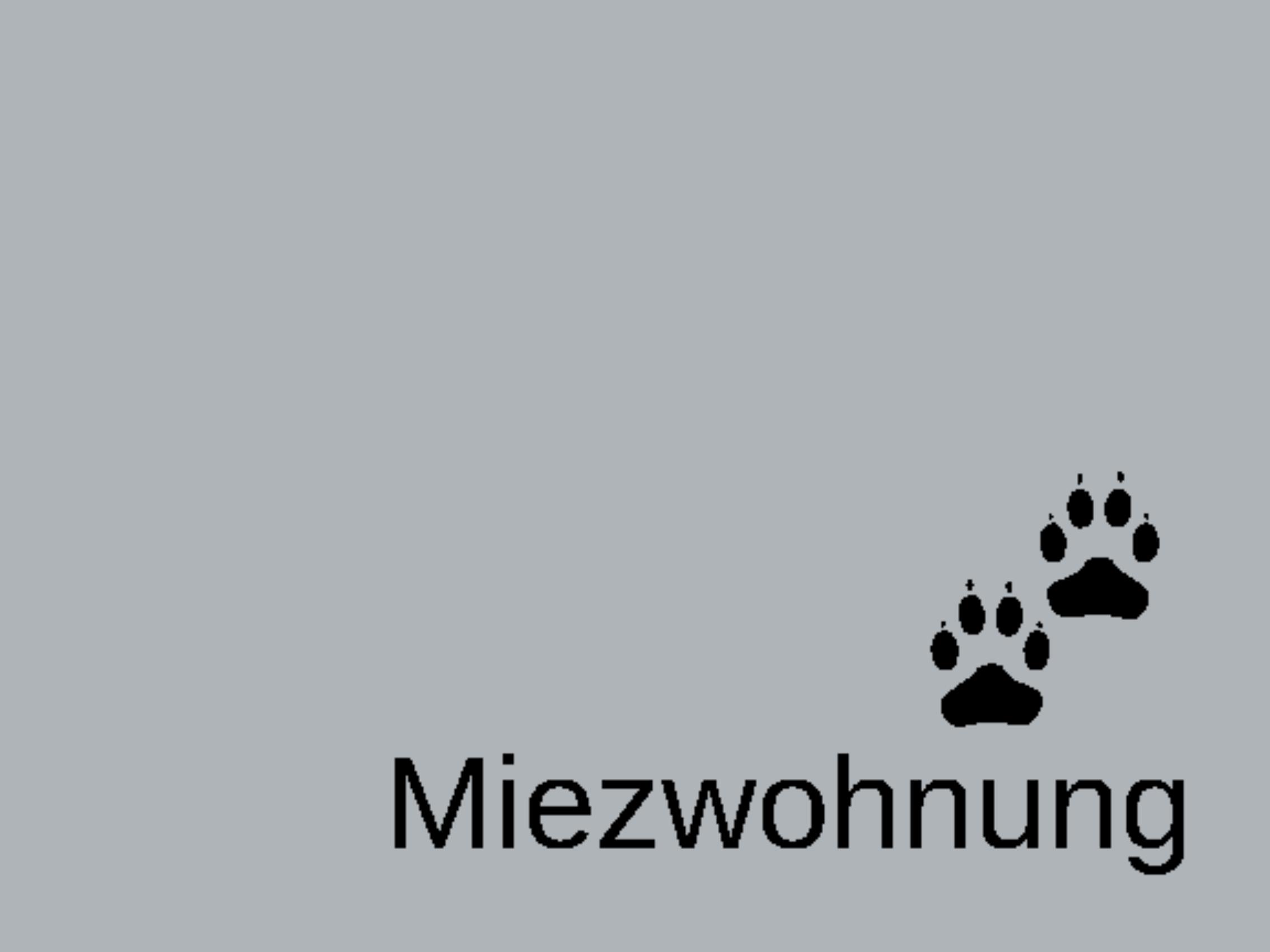 """Doormat """"Miezwohnung"""" 999-1208"""